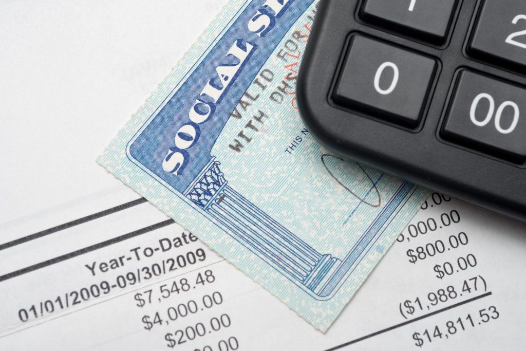 Calculator social security statement