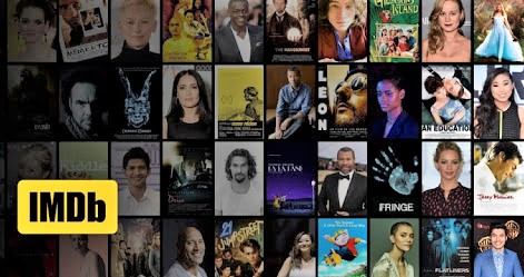 composite of actor photos with IMDB logo