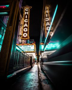 Chicago Theatre on Broadway