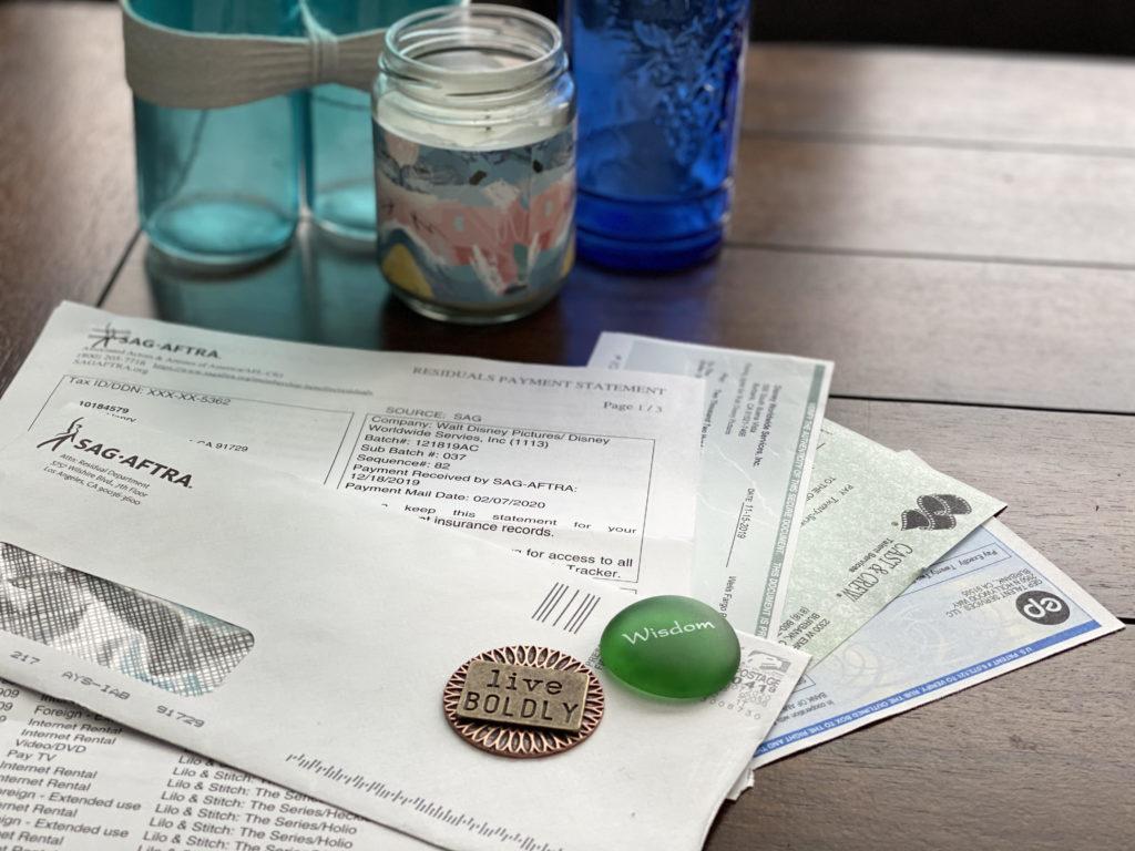 residual checks on a table