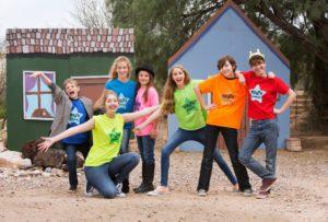 Kids at Acting Camp