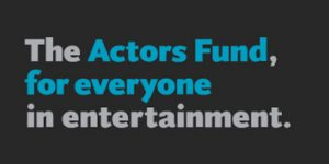 graphic of the Actors Fund for everyone