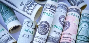 Rolls of US currency