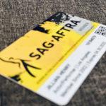 SAG membership card