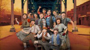 Cast Photo of Broadway Newsies