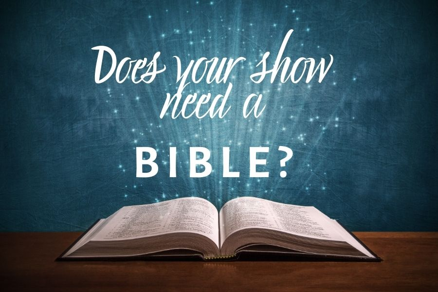 bible on a table